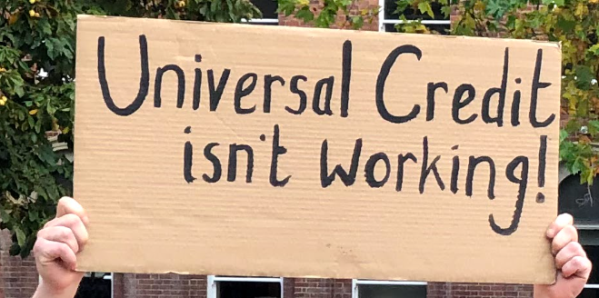 43% of Universal Credit claimants experienced food insecurity
