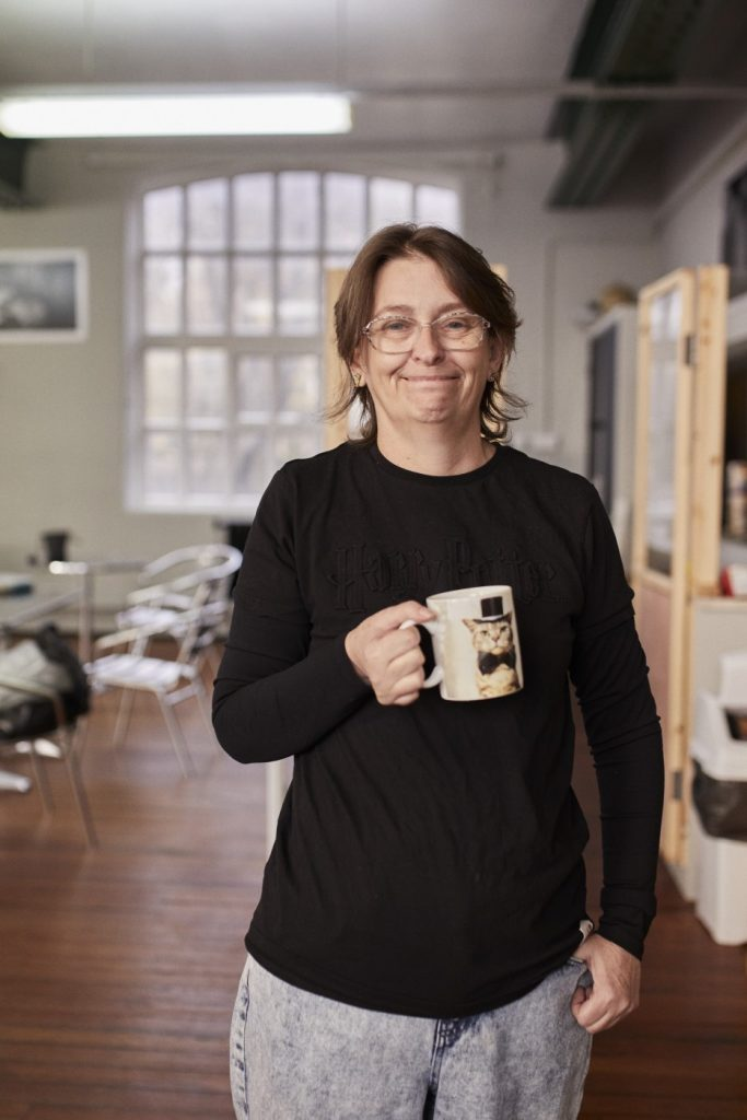 Penny Walters at Byker Community Association